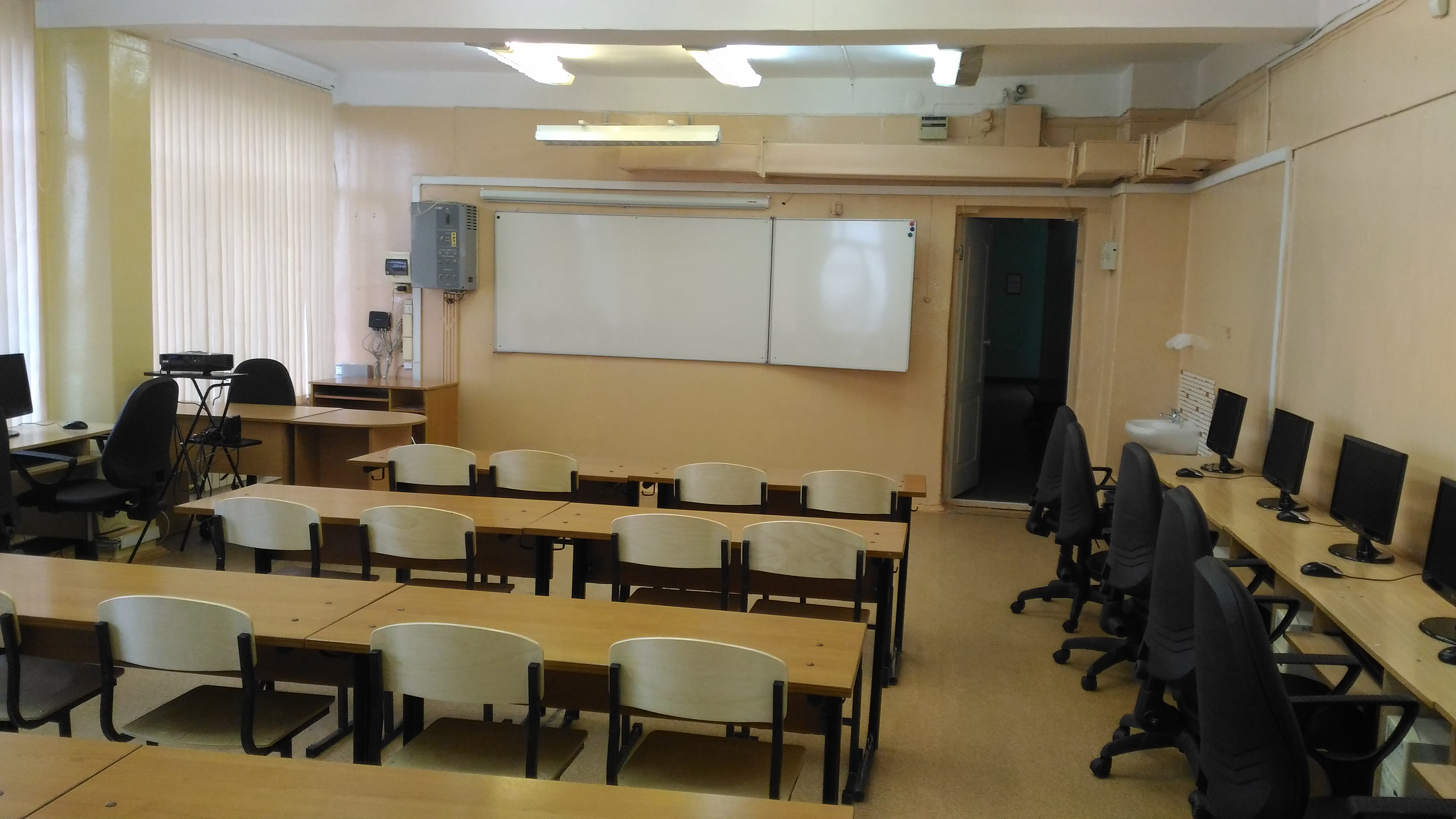 Кабинеты школы 28. Иркутск